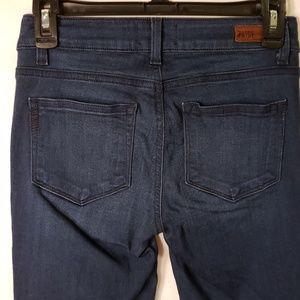 Paige Verdugo Crop Dark Wash Jeans